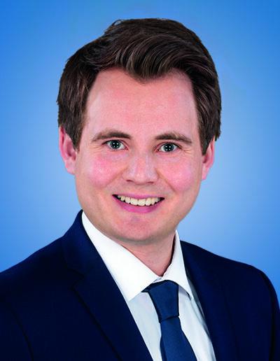 Markus Schiewe </br>Ratsmitglied und Stellv. Fraktionsvositzender