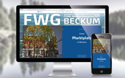 Neue Website der Freien WählerGemeinschaft (FWG) Beckum