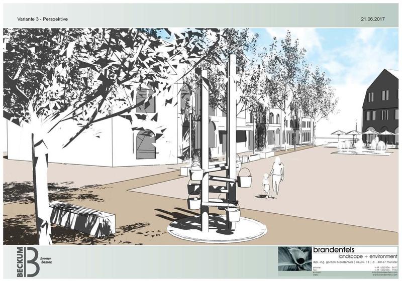 Stadtrat will Umgestaltung des Marktplatzes Beckum auf der Grundlage der Variante 3