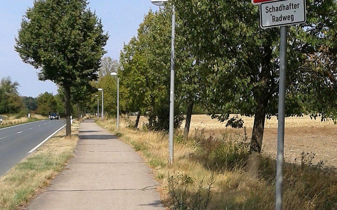 Sanierung Radweg Vorhelmer Straße?