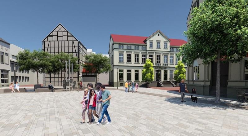 Umgestaltung Marktplatz Beckum