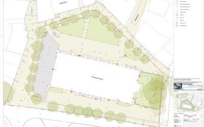 Neugestaltung des Kirchplatzes: Mehr Grün, weniger Pflaster