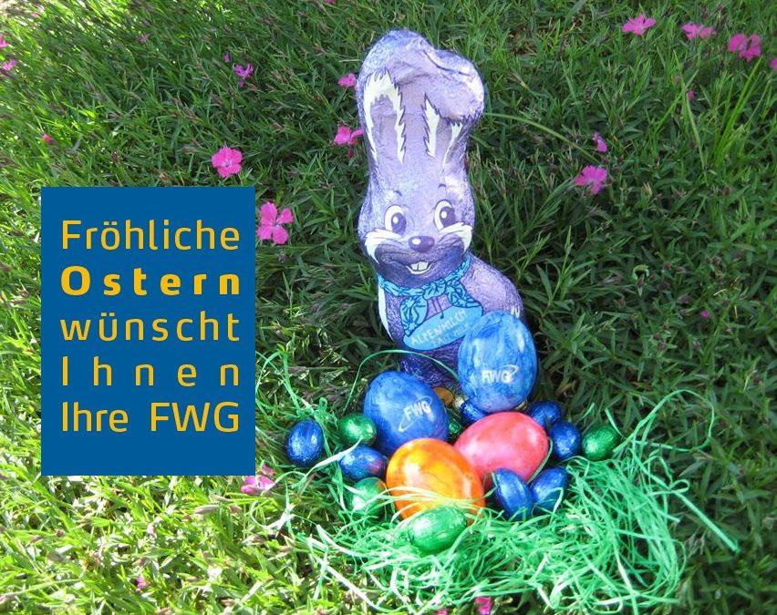Frohe Ostern, schöne Ferien und eine gute Zeit