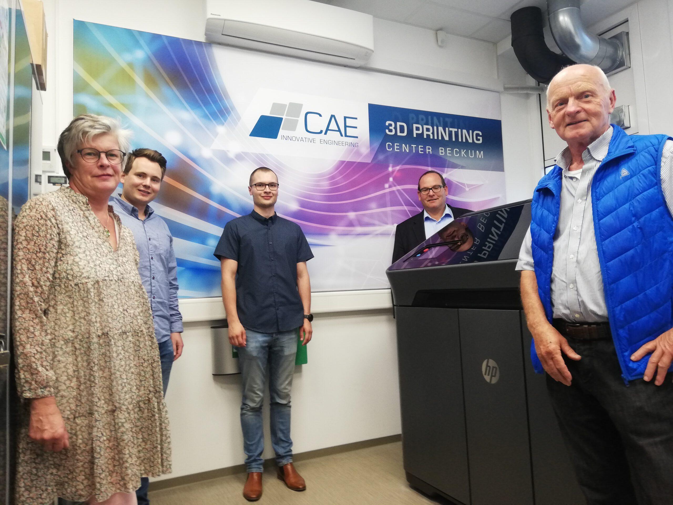 FWG vor Ort: Informationsbesuch bei der CAE in Beckum