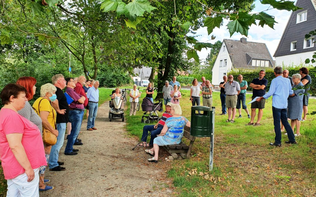 FWG im Dialog mit Anwohnern des Hellbachgebietes