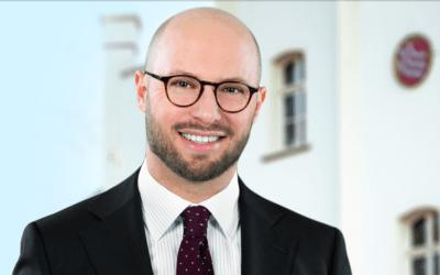 Michael Gerdhenrich ist neuer Bürgermeister der Stadt Beckum