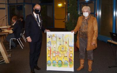 Bürgermeister verabschiedet ausscheidende Ratsmitglieder
