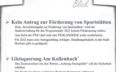Newsletter FWG Beckum